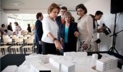 Inauguração do CRID com Dra. Maria Cavaco Silva