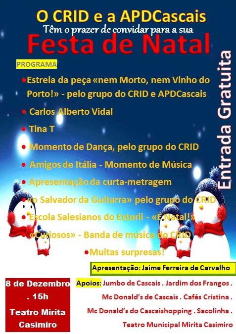 cartaz de natal 2014